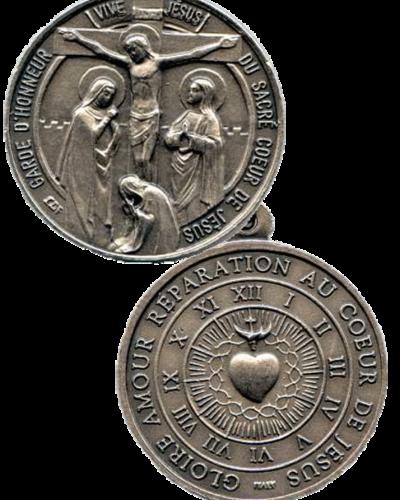 Médaille de la Garde d'Honneur dessinée par la Bse Marie de Jésus