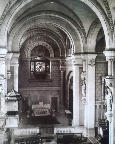 Chapelle du monastère de la Visitation de Bourg
