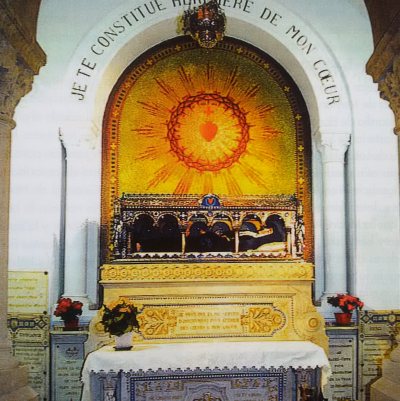 Châsse de sainte Marguerite-Marie
