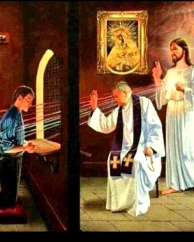 C'est Jésus qui pardonne par le prêtre