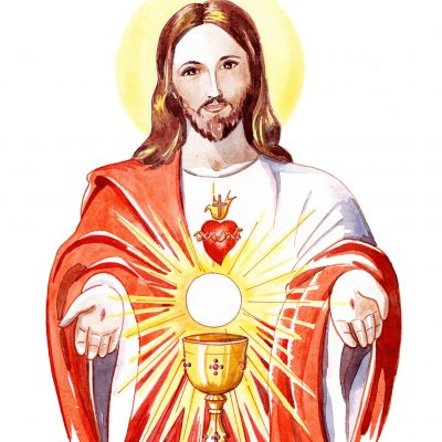 Le Coeur de Jésus, c'est l'Eucharistie