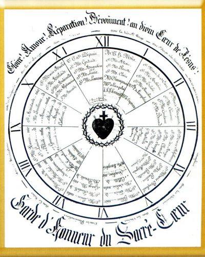 Premier cadran de la Garde d'Honneur, du monastère de Bourg