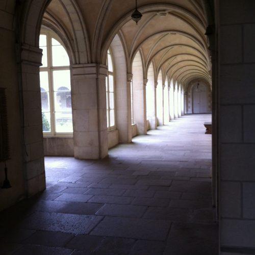 Le couloir du cloître